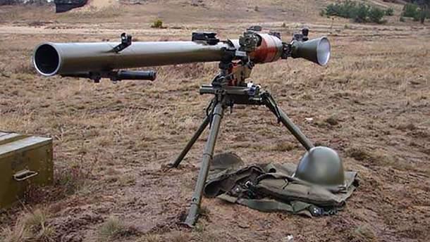 З такого ж гранатомета бойовики обстріляли Красногорівку