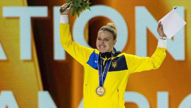 Миг триумфа: как гимн Украины звучал в честь победы Харлан на чемпионате мира (видео)