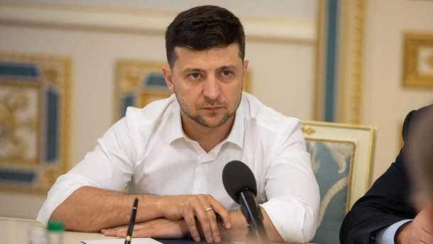 Зеленский обещал, что законопроект об импичменте новая Рада рассмотрит в первую очередь