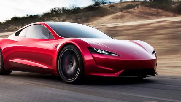 Электрокар Tesla Roadster получит реактивные двигатели