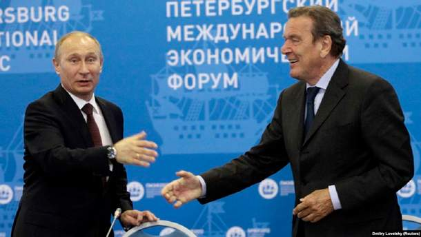 Чому європейські канцлери дружать з Росією і до чого тут Фірташ