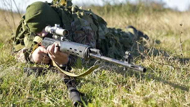 Российские снайперы прибыли в оккупированный Донецк