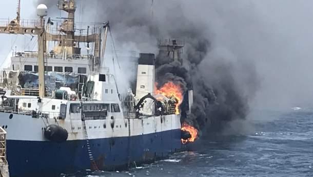 Пожар на украинском судне с крымчанами на борту: почему инцидент скрывают?