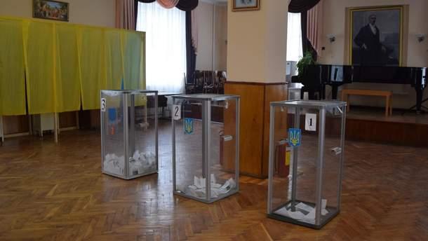 """Карта выборов в Украине окрасилась в цвет партии """"Слуга народа"""""""