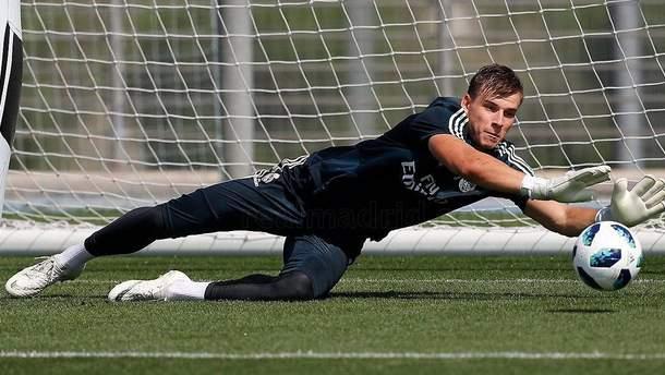"""Лунін продемонстрував фантастичну техніку на тренуванні """"Реалу"""": фанати в шоці (відео)"""