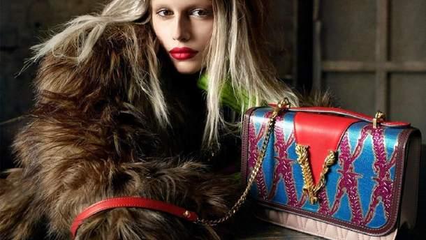 Кайя Гербер для Versace