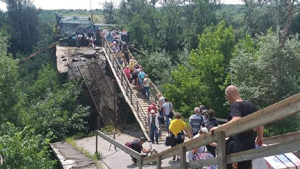 Україна готує пропозиції по відновленню моста у Станиці Луганській
