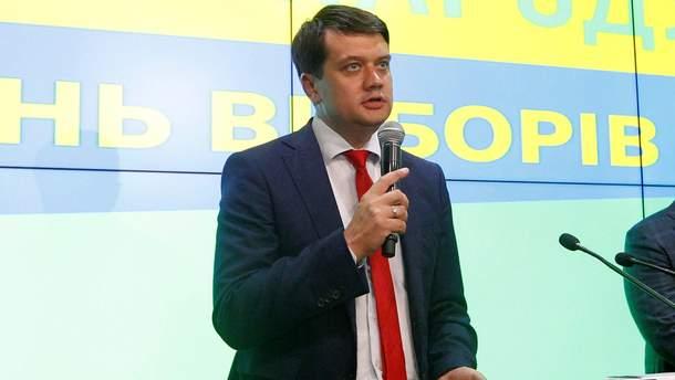 Разумков уверен, что статус русского языка на Донбассе надо обсуждать