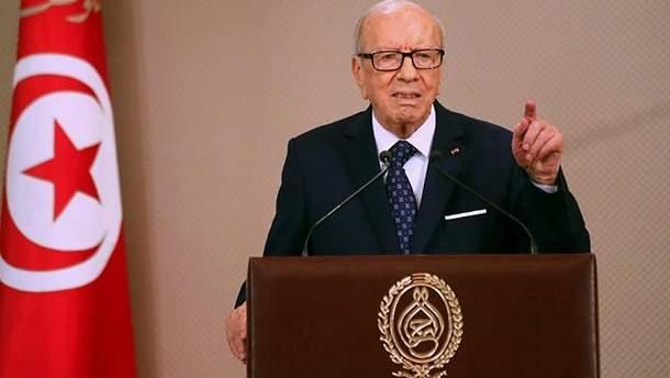 Помер Беджі Каїди Ес-Себсі – причина смерті президента Тунісу