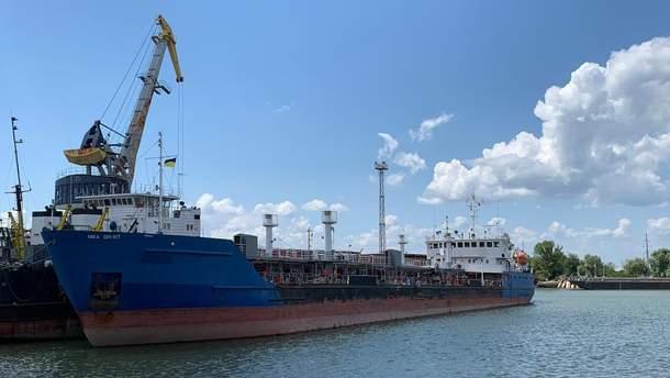 Танкер NEYMA зайшов у порт українського Ізмаїла під іншою назвою – NIKA SPIRIT