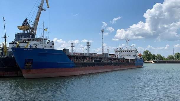 Пограничники задерживали танкер NEYMA под другим названием