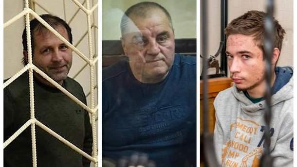 До Балуха, Бекірова та Гриба допустять незалежних лікарів