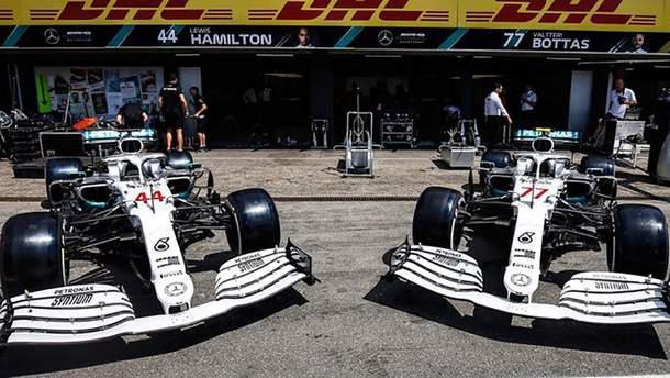 Mercedes представив особливу ліврею на свої боліди на гран-прі Німеччини: фото