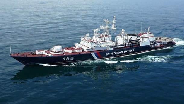 Россия пытается спровоцировать Украину в Азовском море