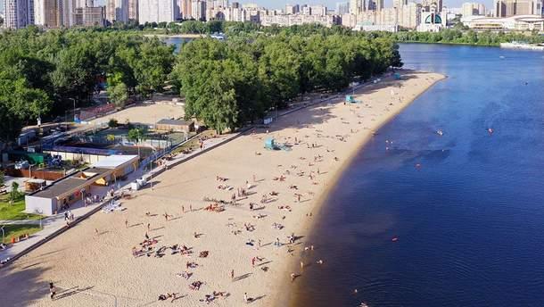 На каких пляжах Киева не стоит купаться