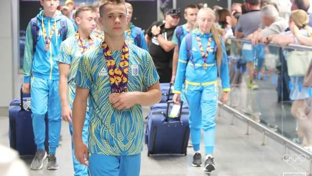 Как в Украине встретили юных олимпийцев после турнира в Баку-2019
