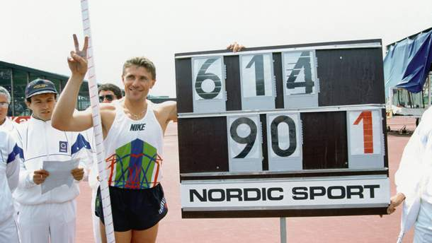 25 лет мировому рекорду Сергея Бубки: видео феноменального прыжка