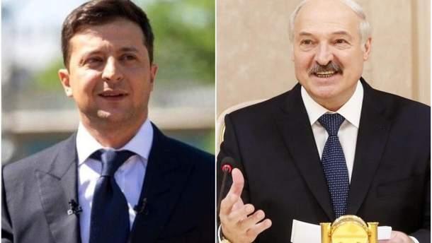 Лукашенко запросив Зеленького у Білорусь, український президент погодився