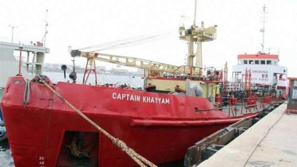 "Судно ""Captain Khayyam"""