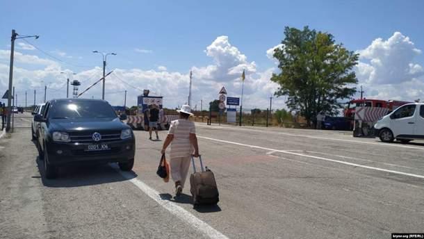 """Дорога с """"ЛНР"""" в Крым полна приключений"""