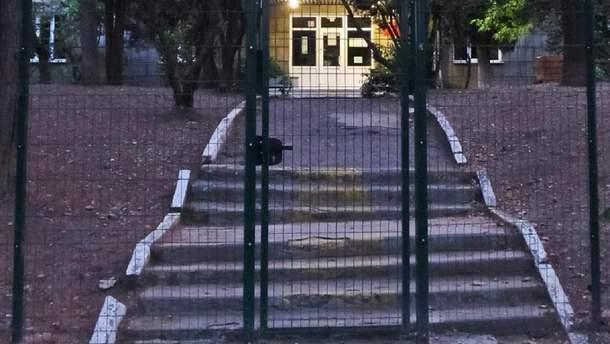 Освободители Крыма на месте музыкальной школы открыли зону