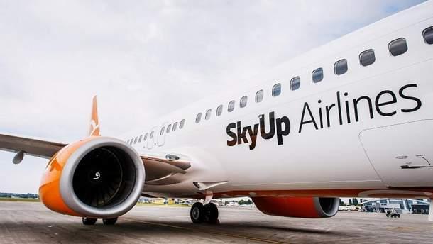 SkyUp теперь будет летать в Прагу и Пардубице