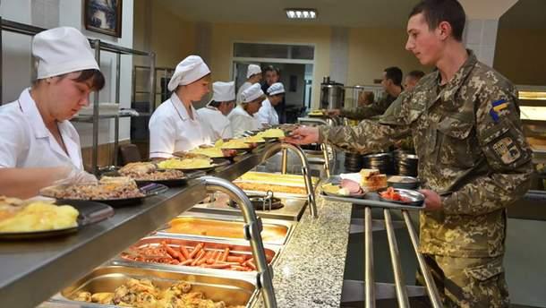 Харчування українських військових