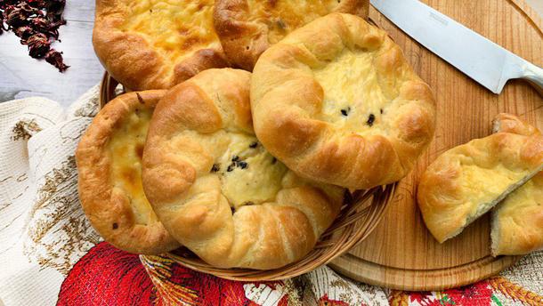 Ватрушки с сыром – простой рецепт приготовления
