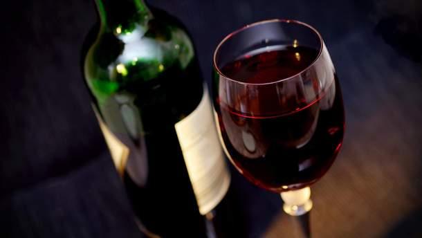 Вино може діяти, як антидепресант