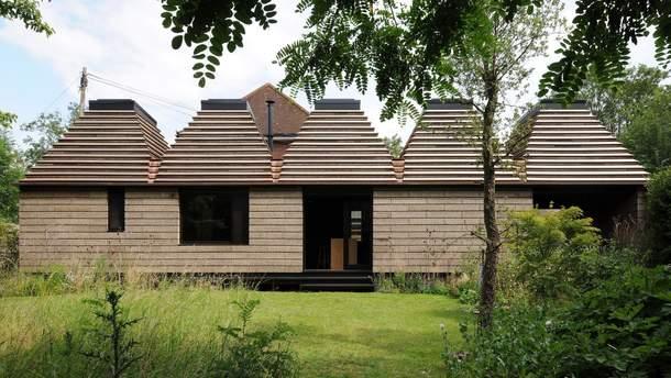 В Великобритании построили дом из пробок