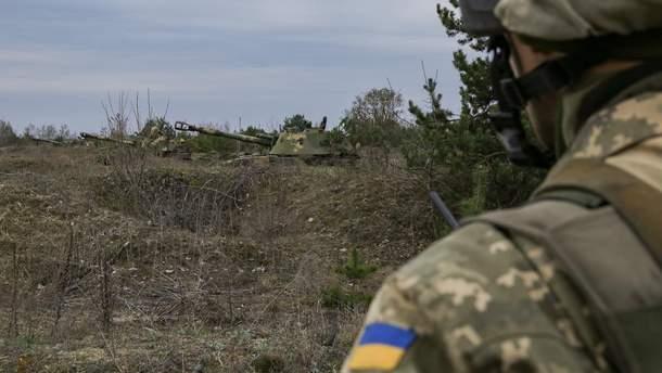 Боевики 5 раз обстреляли украинских военных