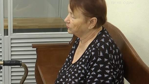 Інеса Кадирова у суді