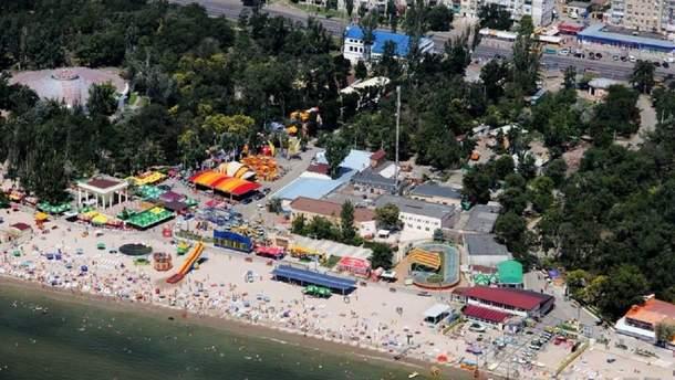 """Пляж """"Лузанівка"""" в Одесі"""