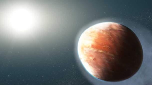 Астрономи виявили планету, що випаровується