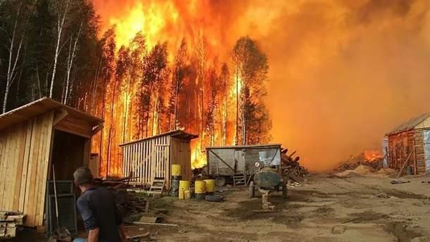 Пожары в Сибири 2019 – фото и видео, как дым накрыл города и села