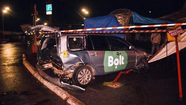 ДТП з Toyota Camry і таксі Bolt у Києві