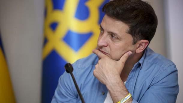 Володимир Зеленський під час візиту до Трускавця