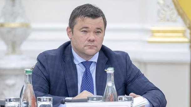 Андрей Богдан – руководитель Офиса Президента