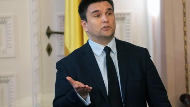 Павло Клімкін заявив про загрозу федералізації України за російською моделлю