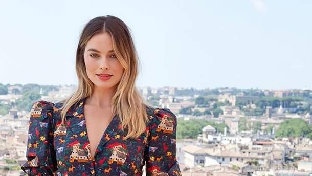 Марго Роббі в Римі