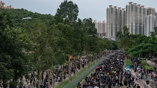 Протести у Гонконгу загрожують справжнім транспортним колапсом