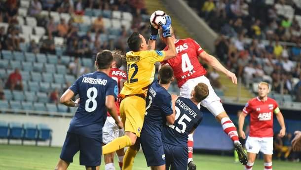 Мариуполь – АЗ Алкмар: обзор матча 8 августа 2019 – Лига Европы