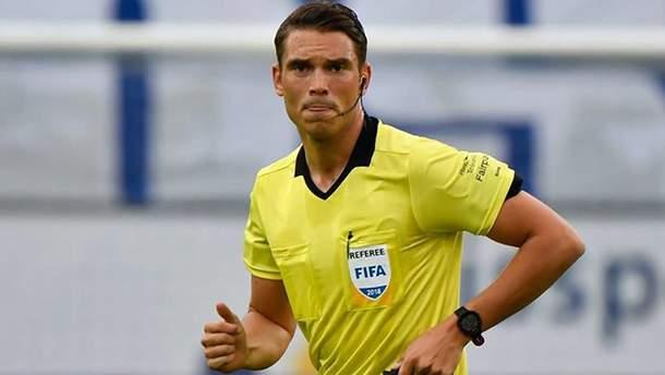 """Матчи """"Зари"""" и """"Мариуполя"""" в Лиге Европы обслужат арбитры из Швейцарии и Дании"""