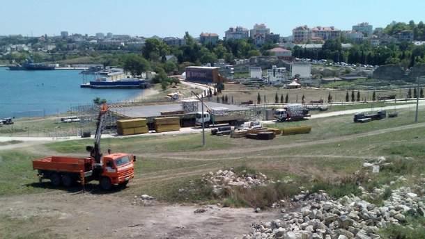 Россия  уничтожает украинскую памятку истории мирового значения Херсонес