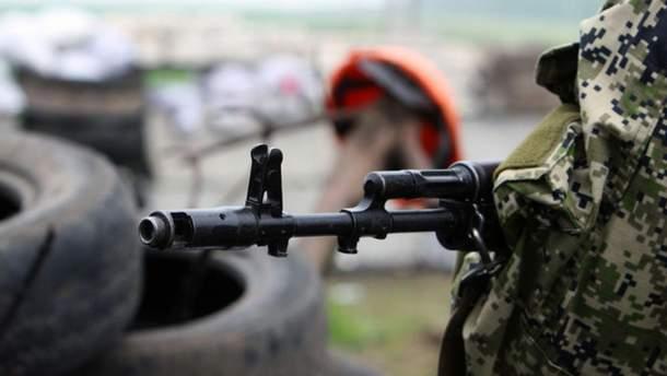 Украинский боец подорвался на Донбассе