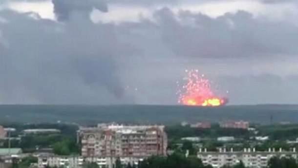 Вибухи на складі боєприпасів в Росії 2019 припинились - пожежу під Ачинськом загасили