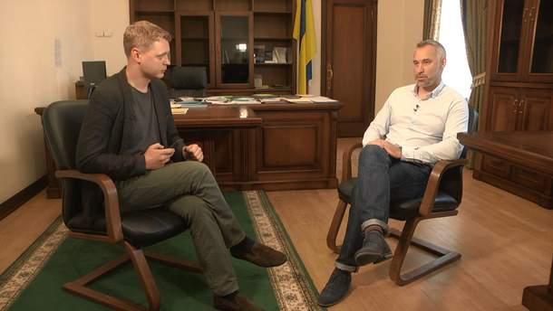 Інтерв'ю з Русланом Рябошапкою
