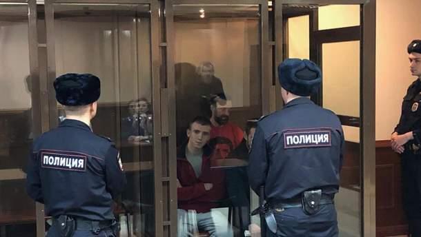 16 августа Московский суд рассмотрит апелляцию о продлении ареста пленных моряков