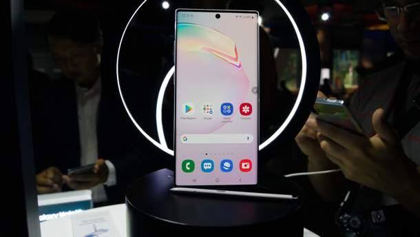 Samsung Galaxy Note10 офіційно надійшов у продаж в Україні: ціна
