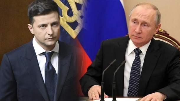 Після вбивства 4 військових Зеленський зателефонував Путіну